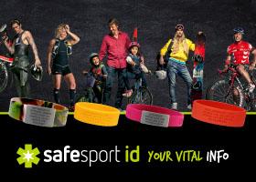 Pulsera SAFESPORT ID con tus DATOS personales de EMERGENCIA