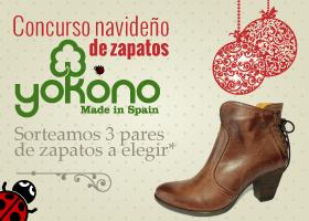 Sorteo navideño de zapatos Yokono