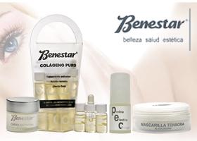 Pack cosméticos Antiaging a base de Colágeno de BENESTAR