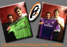 La nueva camiseta firmada por Casillas
