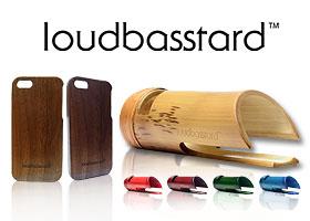 Gana uno de los 2 altavoces de bambú Loudbasstard
