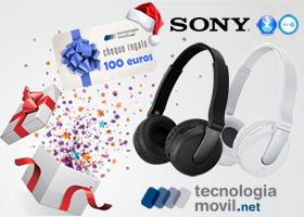 Gana unos cascos Sony Bluetooth o 100€ en compras