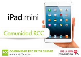 Gana este fantástico iPad mini