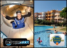 Vuelo WIND2 + acompañante con estancia en Hotel una noche
