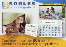 Gana un vale de 80€ por cualquier producto de Sorles impresión