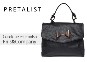 PRETALIST regala un bolso de Friis&Company