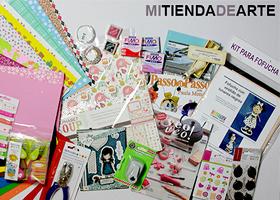 LOTE DE MANUALIDADES CON WWW.MITIENDADEARTE.COM