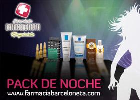 GANA UN LOTE DE PRODUCTOS PARA LA NOCHE CON FARMACIA BARCELONETA