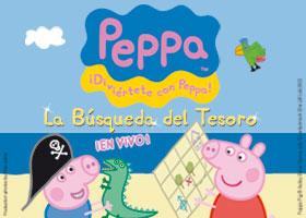5 ENTRADAS DOBLES PARA EL ESPECTÁCULO PEPPA PIG