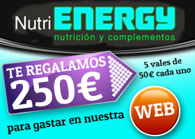 Nutrienergy te regala 250€