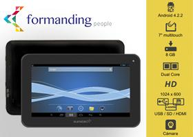 Tablet + Curso de formación Online a elegir