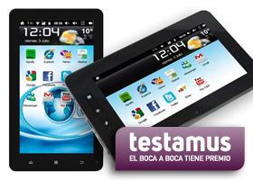 ¡Llévate una tablet gracias a Testamus!