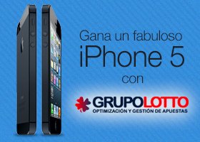 Ten tu suerte Un Iphone5