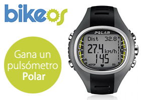 Gana un pulsómetro Polar con Bikeos