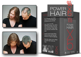 Maquillaje Capilar Power Hair