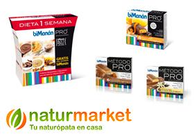 Dieta Bimanan Pro en Naturmarket. ¡Participa!