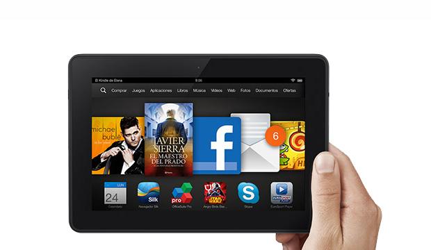 MasCupon regala una tablet Kindle FireHDX7