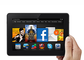 MasCupon regala una tablet Kindle FireHDX7