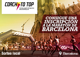 Sorteo Coach to top: InscripciónMaratón Barcelona