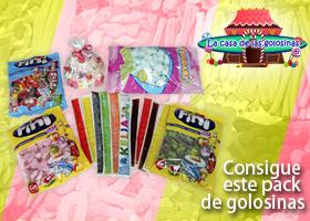 LOTE DE PRODUCTOS DE LA CASA DE LAS GOLOSINAS
