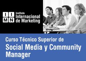 Curso Técnico Superior en Social Media y Community Manager