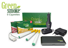 GANA UN PRO KIT DE CIGARRILLO ELECTRÓNICO GREEN SMOKE