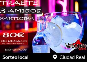 Consigue 80€ de Barra libre para ti y tus amigos en Ciudad Real