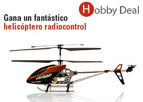 Gana un helicóptero radiocontrol