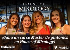 Gana 3 invitaciones dobles para un curso de Gin Master