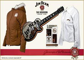 Gran cesta de Navidad Jim Beam
