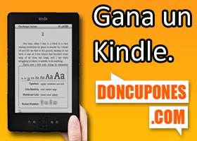 Gana un Kindle con DonCupones.com