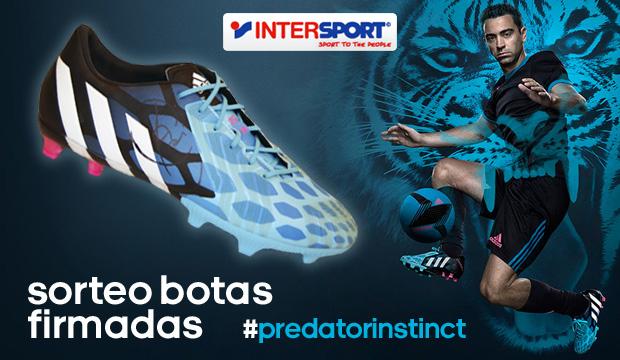 Sorteo botas Adidas Predator firmadas por Xavi Hernández