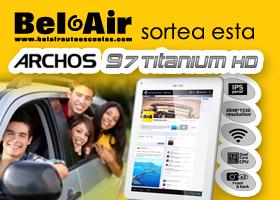 Consigue un Tablet gracias a Bel-Air Autoescuelas Barcelona