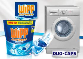 Las nuevas Duo-Caps te regalan una lavadora