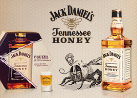 REGALAMOS 5 PACKS DEL NUEVO JACK HONEY