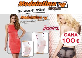 Gana 100€ en lencería femenina Janira en ModaIntimashop.com