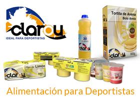 GANA TRES PACKS, NUTRICION DEPORTIVA CON CLAROU