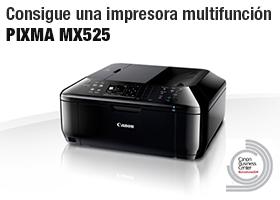 Consigue una impresora multifunción PIXMA MX525