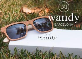 Gana unas gafas de madera Wandy Barcelona