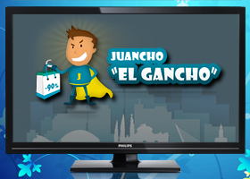 Gana un TV Philips 24 LED con Juancho el Gancho