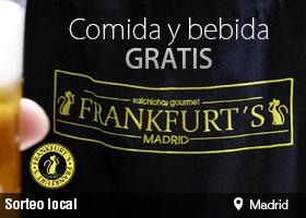 COMIDA Y BEBIDA GRATIS Frankfurt's Madrid