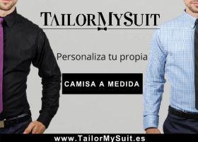 PERSONALIZA TU CAMISA EN LA SASTRERÍAONLINE DE TailorMySuit.