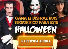 Gana el disfraz más terrorífico para este Halloween