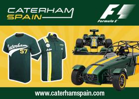 Consigue un polo o camiseta de Caterham, tu equipo de Fórmula 1
