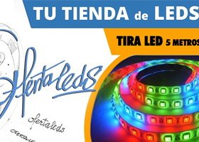 Regalo tira flexible leds 5m RGB