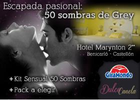 "Escapada pasional ""50 sombras de Grey"""