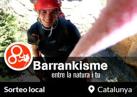 Consigue un Descenso de Barranco