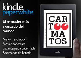 GANA UN KINDLE CON CARTOOMATOS