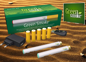 GANA UN KIT DE CIGARILLO ELECTRÓNICO GREEN SMOKE