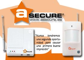 Kit de sistema de Alarma Avanzado aSecure WL